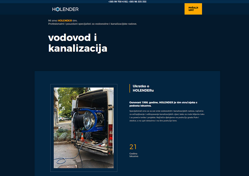web site HOLENDER